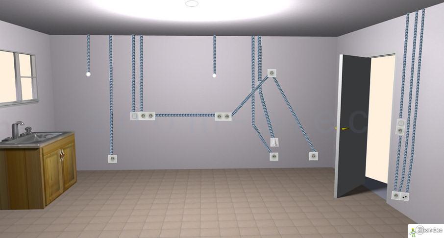 Circuits en s rie et en parall le les neurones atomiques for Interrupteur dans salle de bain