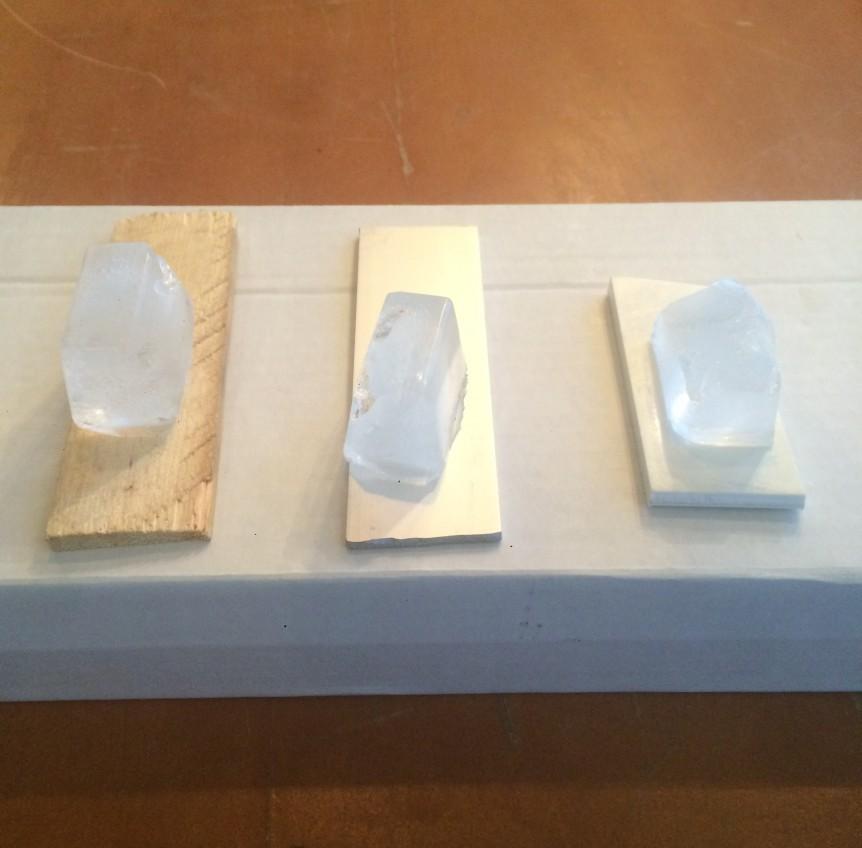 faire fondre de la glace atelier d 39 exploration scientifique conductivit thermique. Black Bedroom Furniture Sets. Home Design Ideas